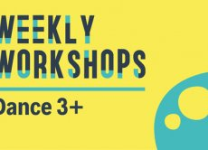 Weekly Workshops: Dance 3+