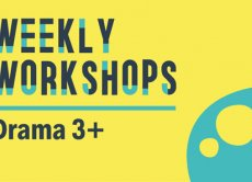 Weekly Workshops: Drama 3+