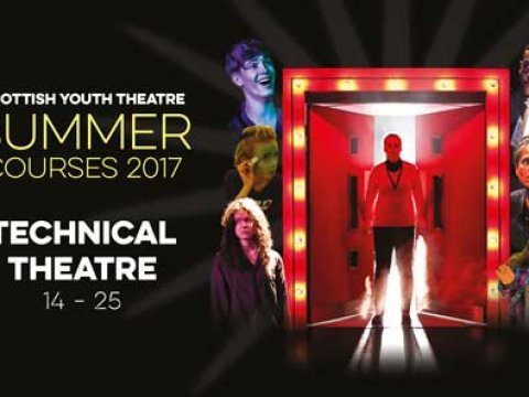 Summer 2017 Technical Theatre Course (16 -25 yrs)
