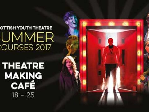 Summer 2017 Theatre Making Cafe (18 - 25 yrs): Audacious