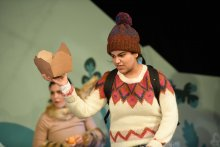 Shura Latif in Sno Snow! at Scottish Youth Theatre